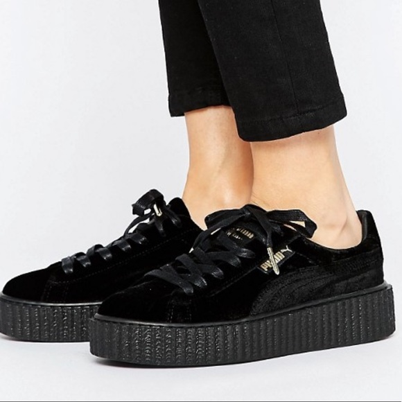 puma shoes velvet